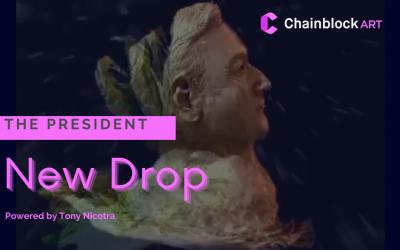 "Chainblock ART presenta ""The President"" di Tony Nicotra"