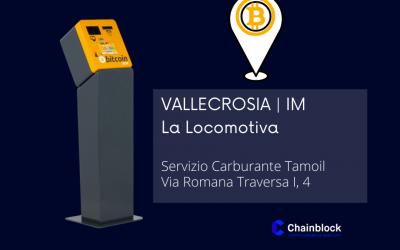 IMPERIA   Vallecrosia ha il suo ATM Crypto